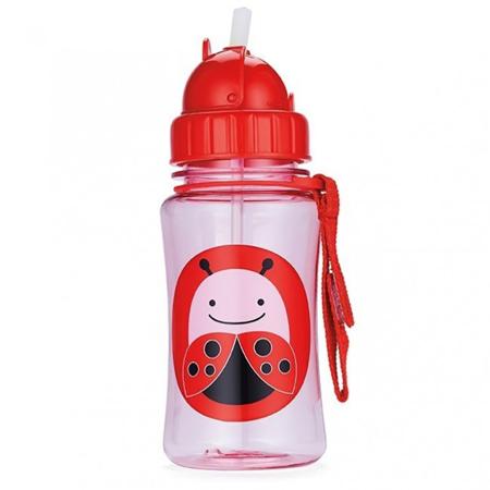 Slika za Skip Hop® Steklenička s slamico Pikapolonica