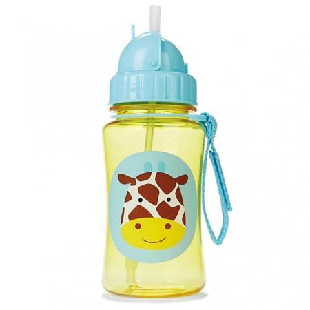 Slika za Skip Hop® Steklenička s slamico Žirafa