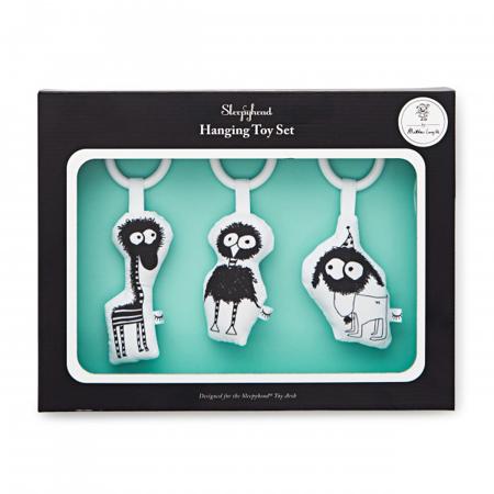 Slika za Sleepyhead® Set tri viseće igračke Fuzzy Pals
