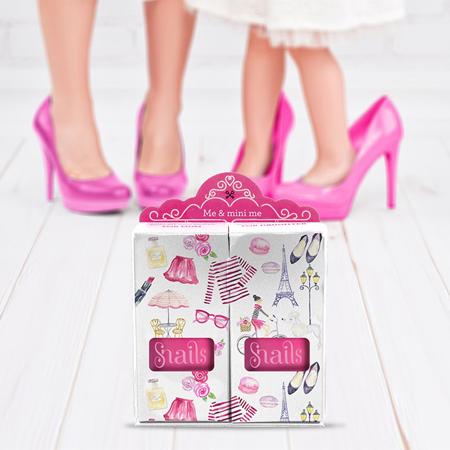 Slika za Snails® Komplet 2 laka Me & Mini Me Pink