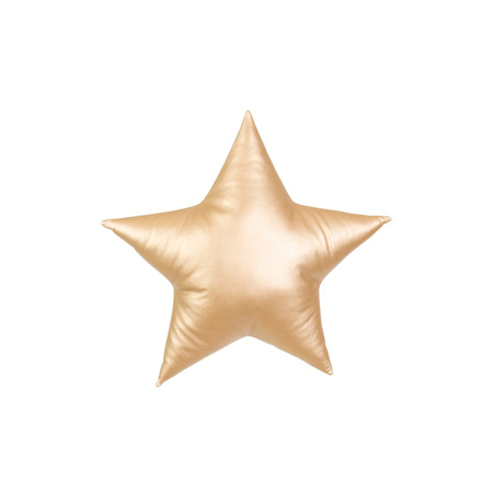Slika za Cotton&Sweets® Dekorativna blazina Zvezdica Zlata