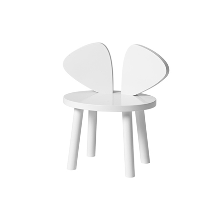 Slika za NoFred® Stolček Mouse White 2-5let