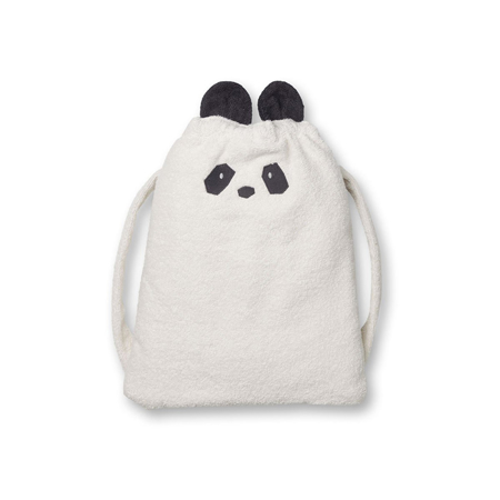 Slika za Liewood® Ruksak ručnik Thor Panda Creme de la Creme 135x72