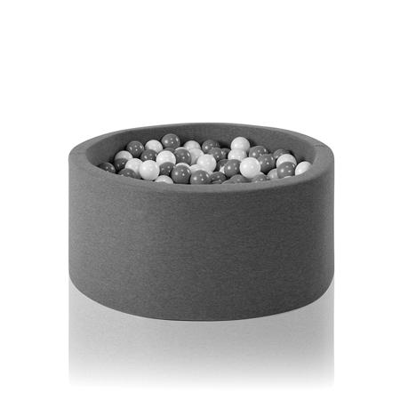 Slika za Misioo® Bazen sa kuglicama Grey Basic Smart