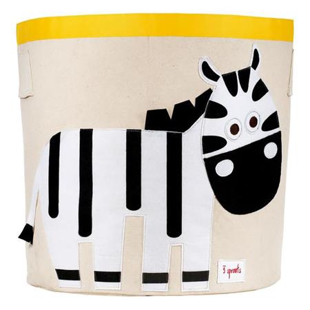 Slika za 3Sprouts® Koš za igrače Zebra