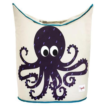 Slika za 3Sprouts® Koš za igrače in perilo Hobotnica