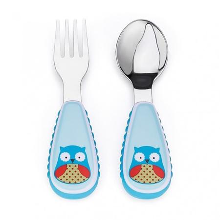 Slika za Skip Hop® Otroški jedilni pribor Sovica