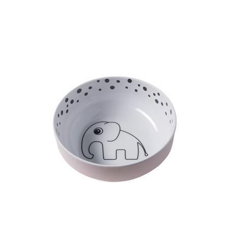 Slika za Done by Deer® Zdjelica Happy Dots - Svetlo Roza