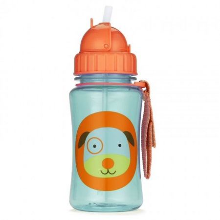 Slika za Skip Hop® Steklenička s slamico Kuža