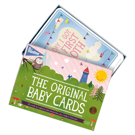 Milestone® Kartice za fotografiranje Baby (ENG)