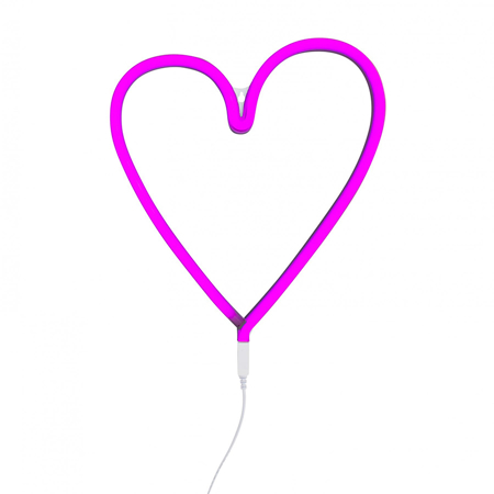 Slika za A Little Lovely Company® Lampa Srce - Ružičasta