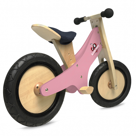 Slika za Kinderfeets® Drvena guralica Classic - Roza