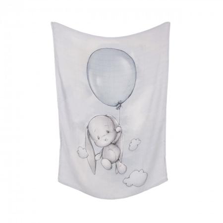 Slika za Effiki® Tanka Bambusova Odejica Balloon 70x100