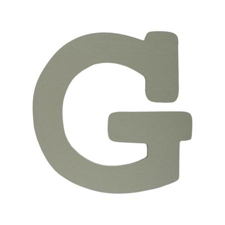 Slika za BamBam® Lesene črke Sive - G