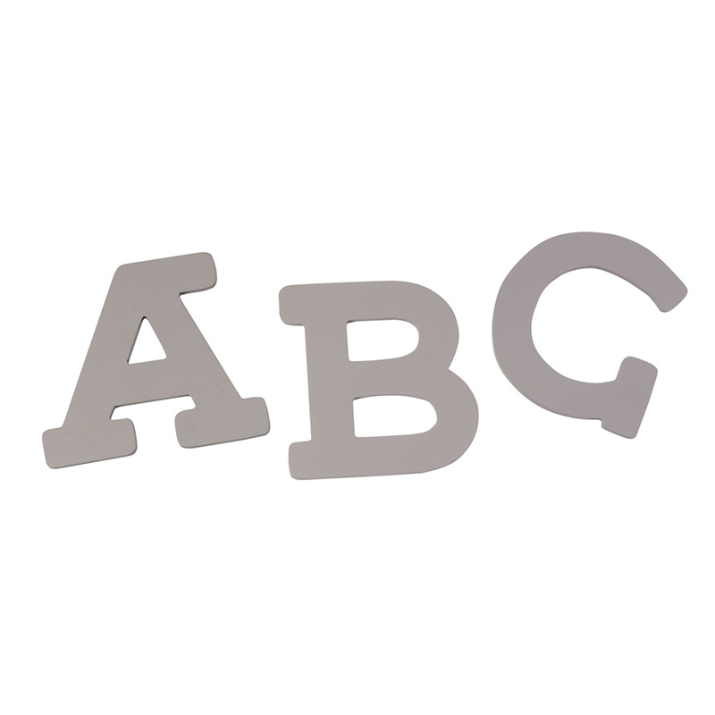 Slika za BamBam® Lesene črke Sive