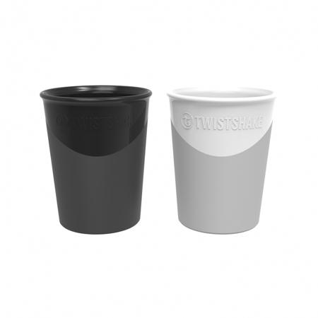 Slika za Twistshake® 2x Čaša Black&White 170ml (6+m)