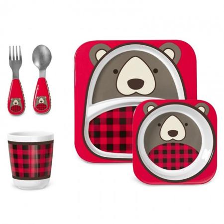 Slika za Skip Hop® Zimski darilni set za hranjenje Medvedek