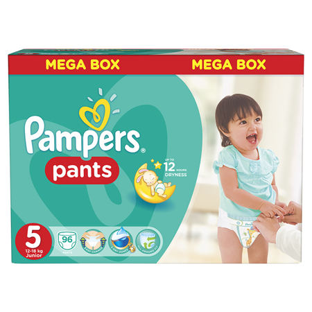 Slika za Pampers® Pelene gećice vel. 5 (12-18 kg) 96 komada