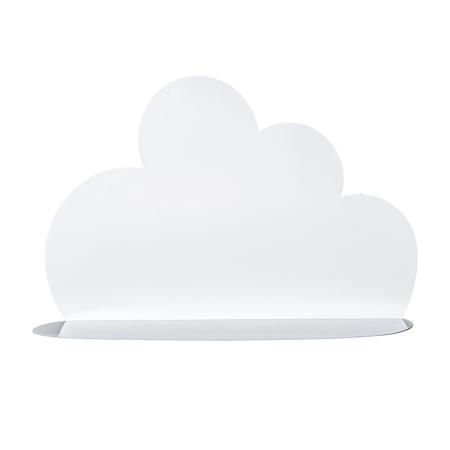 Slika za Bloomingville® Velika bijela polica oblačić