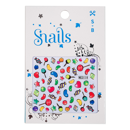 Slika za Snails® Naljpenice za nokte Candy Blast
