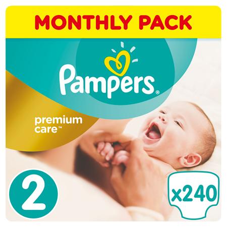 Slika za Pampers® Pleničke Premium Care vel. 2 (4-8 kg) 240 kosov Mega Box