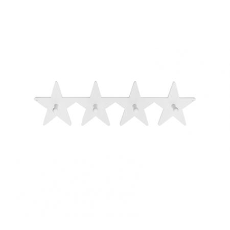 Slika za Kids Concept® Leseni stenski obešalnik Star