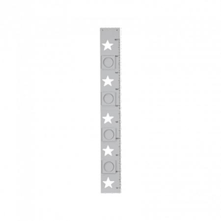 Slika za Kids Concept® Meter za merjenje višine Star Grey