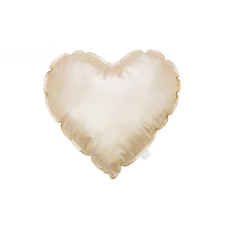 Slika za Cotton&Sweets® Dekorativna blazina Srček Zlat