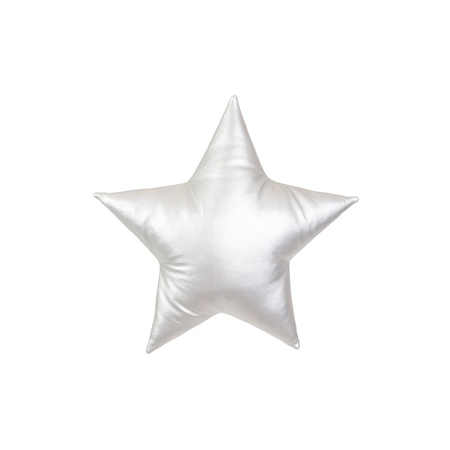Slika za Cotton&Sweets® Dekorativna blazina Zvezdica Srebrna