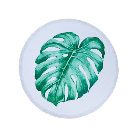 Slika za Olala® Okrogli ručnik za plažu  Cleopatra's Leaf