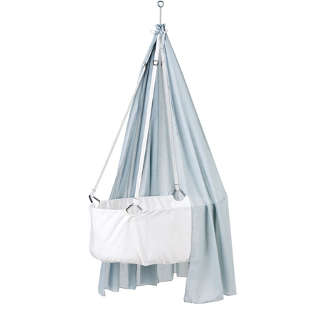 Slika za Leander® Zastor za visečo zibelko - Svetlo Modra