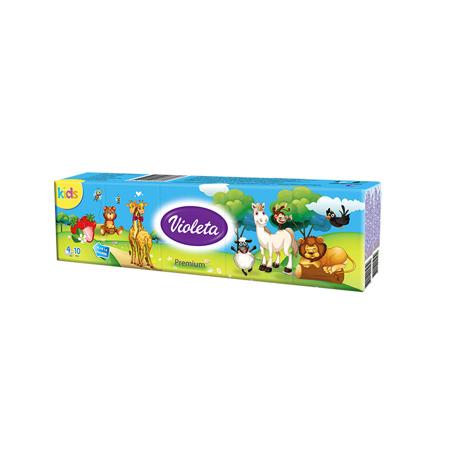 Slika za Violeta® Papirne Premium 4 slojne maramice KIDS mini
