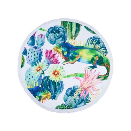 Slika za Olala® Okrogli ručnik za plažu Tropicana
