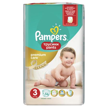 Slika za Pampers® Premium pelena gaćice vel. 3 (6-11 kg) 56 komada