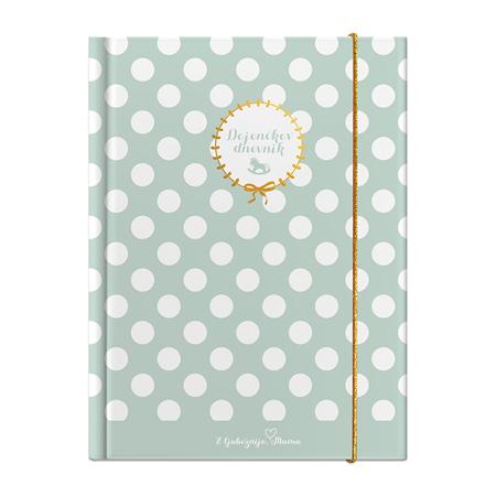 Slika za Z ljubeznijo, Mama® Dojenčkov dnevnik Mint