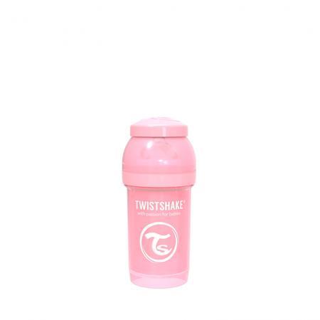 Slika za Twistshake® Anti-Colic bočica 180ml (0+M) - Pastel Pink