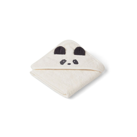 Slika za Liewood® Brisača s kapuco Panda Creme de la Creme Baby 70x70