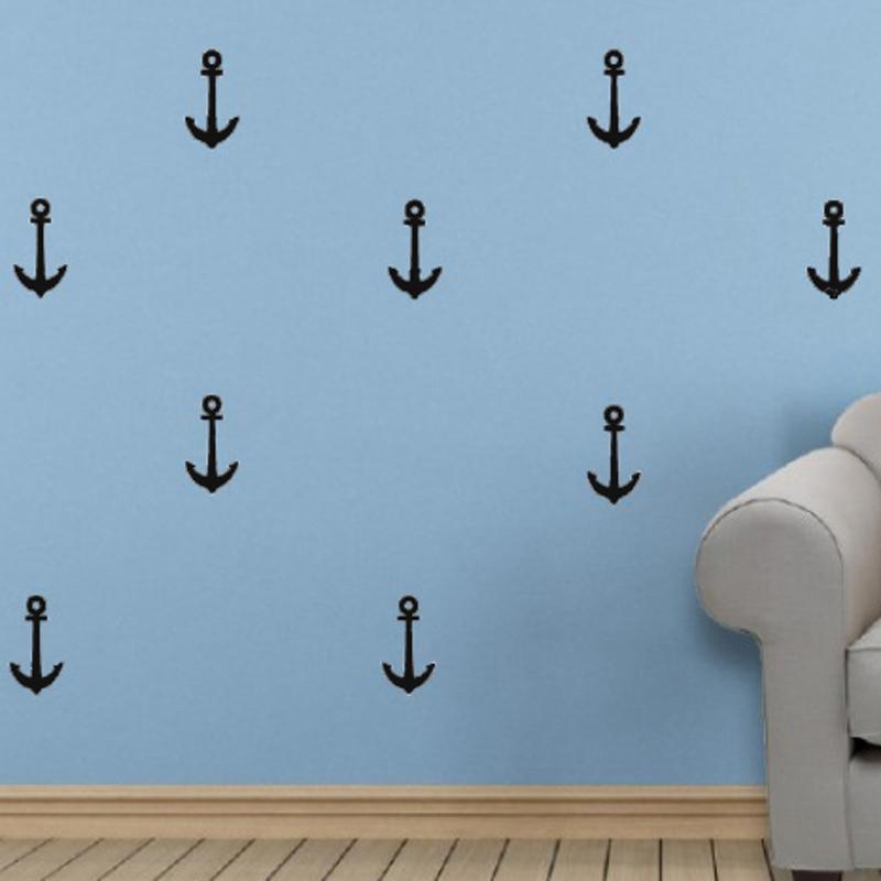 Slika za Pick Art Design® Zidne naljepnice Sidra Crna