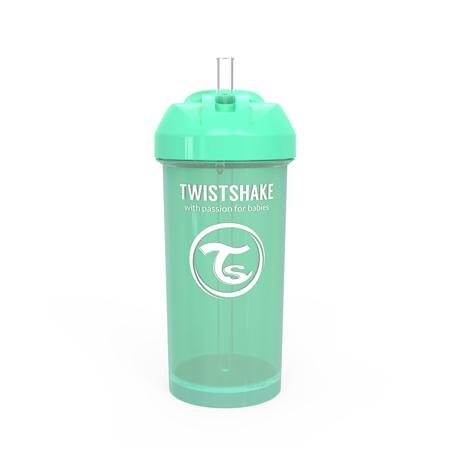 Slika za Twistshake® Bočica sa slamkom 360ml (12+m) - Pastel  Green