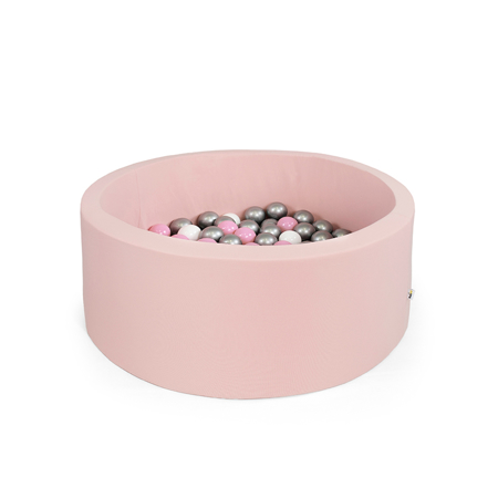 Slika za Misioo® Bazen sa kuglicama Light Pink Basic Smart