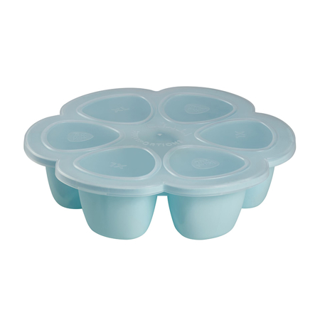 Slika za Beaba® Predelna posodica za zmrzovanje 6x150ml Light Blue