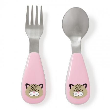 Slika za Skip Hop® Otroški jedilni pribor Leopard