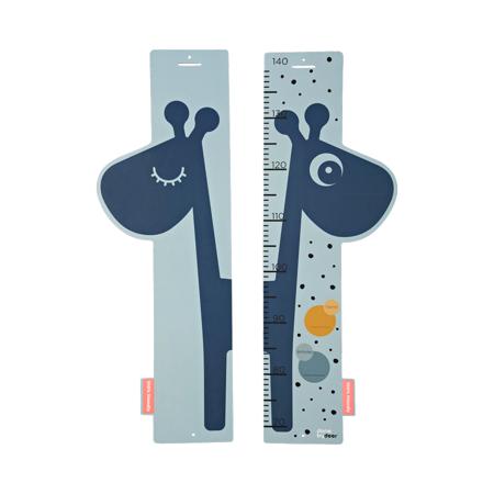 Slika za Done by Deer® Otroški stenski meter Raffi Blue