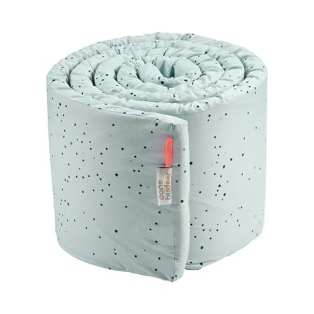 Slika za Done by Deer® Obroba za otroško posteljico Dreamy Dots Blue 350x30