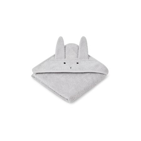 Slika za Liewood® Ručnik s kapom Rabbit Grey Baby 70x70