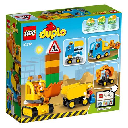 Slika za Lego® Duplo Kamion i bager gusjeničar