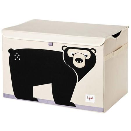Slika za 3Sprouts® Zabojnik za igrače Medved