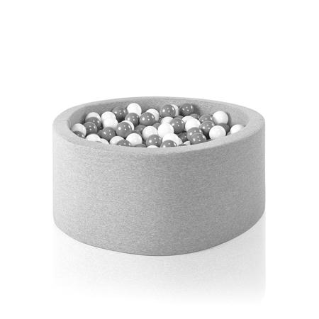Slika za Misioo® Bazen sa kuglicama Light Grey Basic  Smart