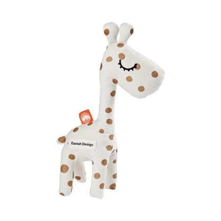 Slika za Done by Deer® Aktivnostna ropotuljica žirafa Raffi Gold Dots