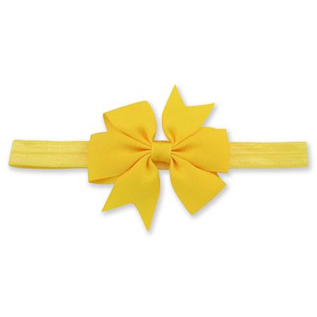Ukrasna traka za kosu sa mašnom Yellow